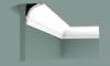 Карниз Гладкий Orac Decor CB525 Д200xШ6xВ6.5 см Лепнина из Дюрополимера / Орак Декор