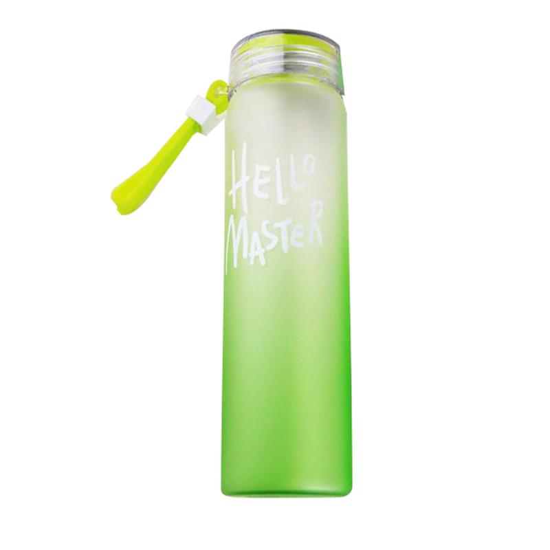 Бутылка Для Воды Hello Master, 480 Мл, Цвет Зеленый