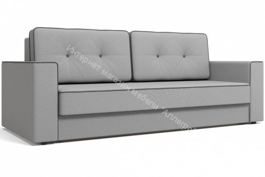 Диван-кровать  Орландо светло-серый