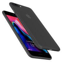 Оригинальный чехол Spigen Air Skin для iPhone 7 Plus черный
