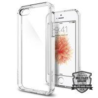 Оригинальный чехол Spigen Ultra Hybrid для iPhone 5/5S/SE кристально-прозрачный
