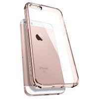 Купить чехол Spigen Ultra Hybrid для iPhone 5/5S/SE кристально-розовый