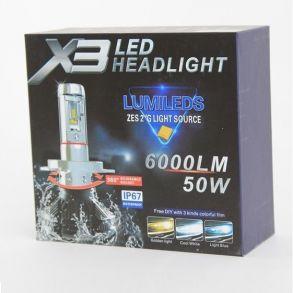 Светодиодные лампы HB3 9005 серия ZES-X3