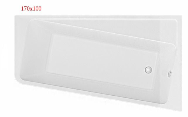 Ванна акриловая Marka One DIRECT 170x100