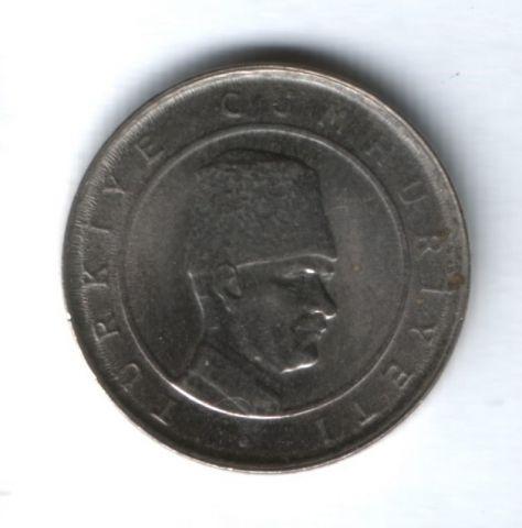 100000 лир 2002 года Турция