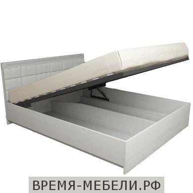 Кровать «Азалия 14ПМ» Бодега белый