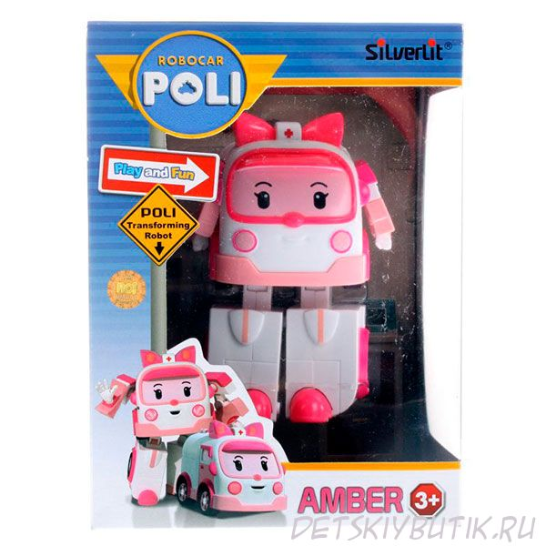 Эмбер Robocar Poli трансформер