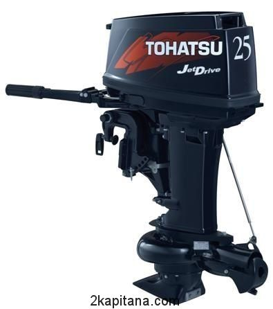 Лодочный Мотор Tohatsu (Тохатсу) M 25 JET