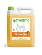 Средство биоразлагаемое для мытья посуды, детских игрушек с ароматом апельсина, 5 л