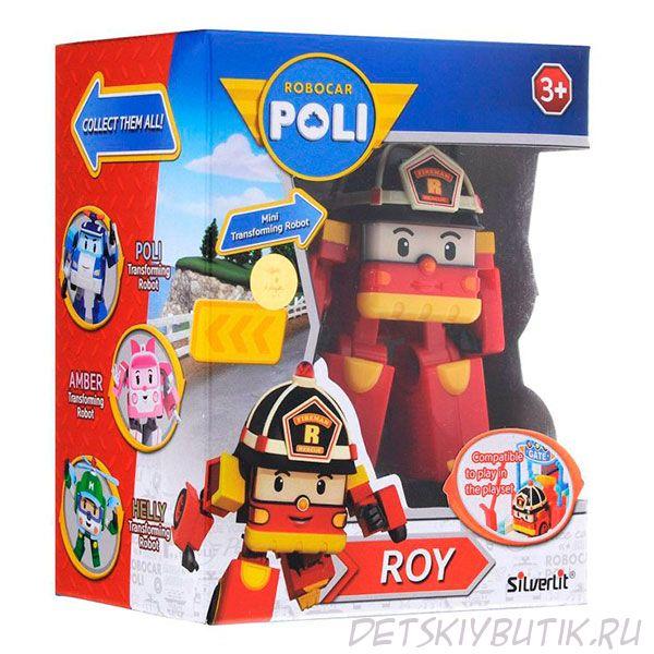 Рой трансформер Robocar Poli