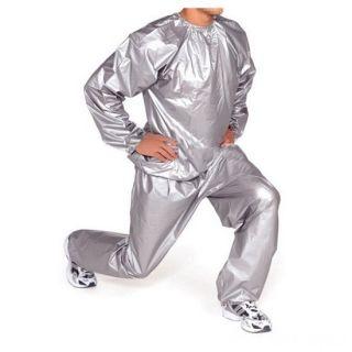 Термический спортивный костюм -сауна Sauna Suit, Размер: XXXXL, Цвет: Серый