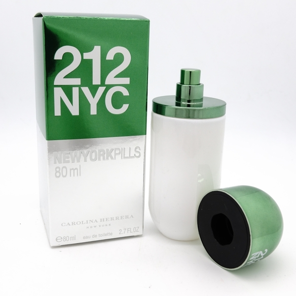 Carolina Herrera 212 NYC NEW YORK Pils EDT 80ml