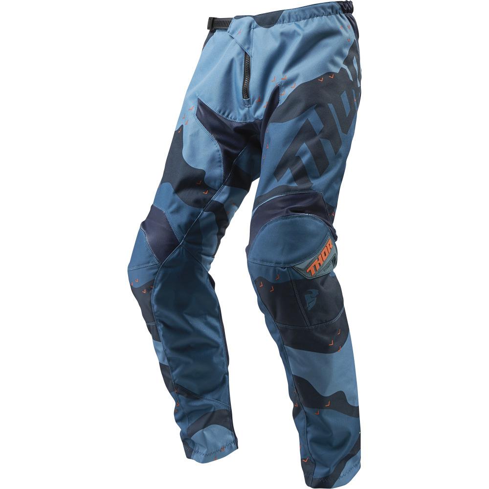 Thor - 2019 Sector Camo Blue штаны, синие
