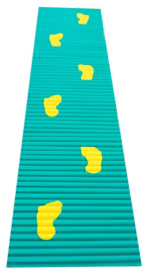 Ребристая дорожка со следочками 1.6м