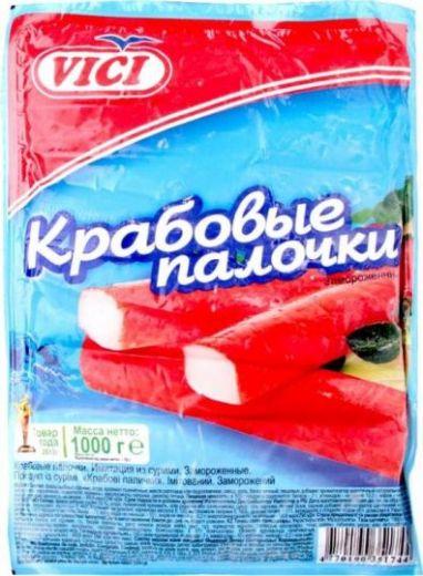 Крабовые палочки VICI 1 кг.