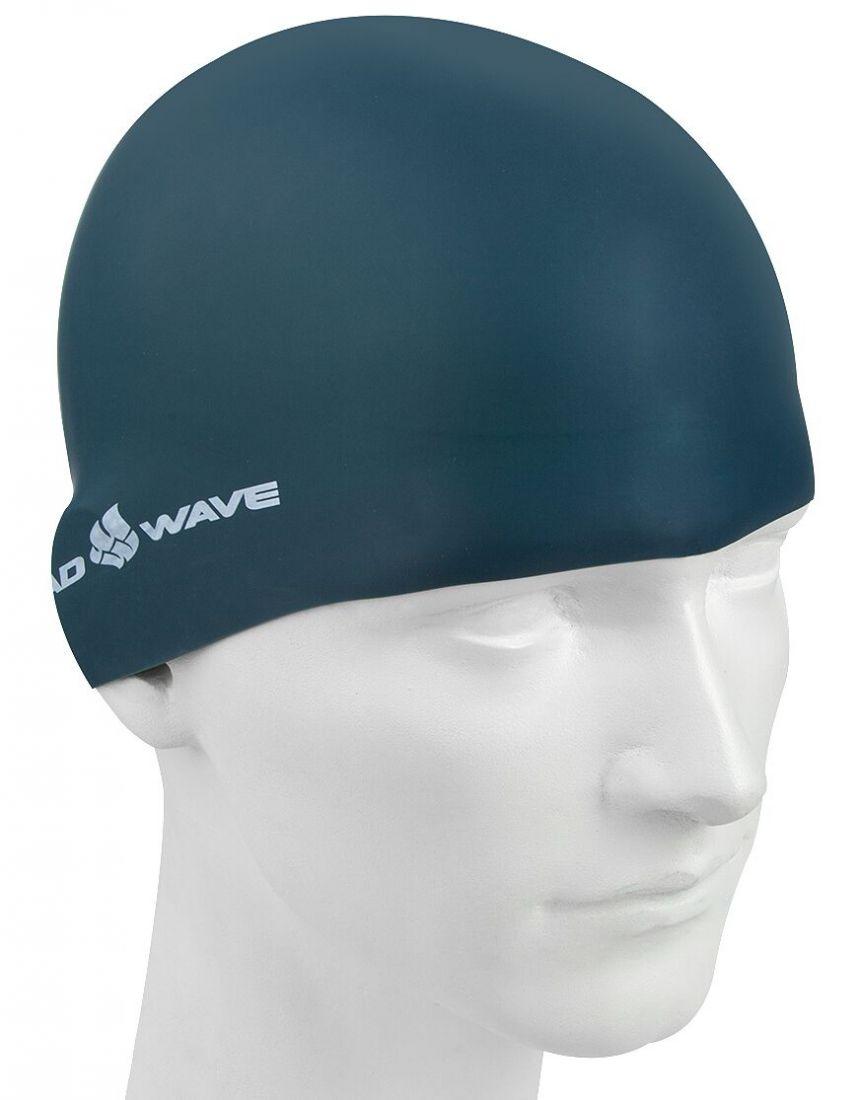 Шапочка для плавания силиконовая Mad Wave Intensive Silicone Solid