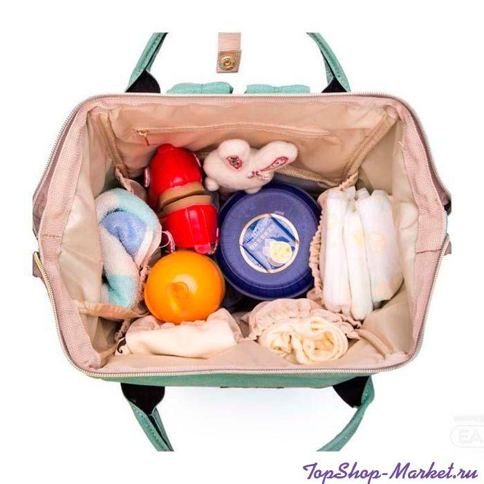Сумка-рюкзак для мамы Mummy Bag, Цвет: Персиковый