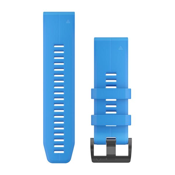 Ремешок сменный QuickFit 26мм Силиконовый голубой
