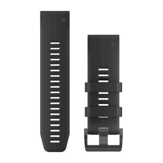 Ремешок сменный QuickFit 26мм Силиконовый черный
