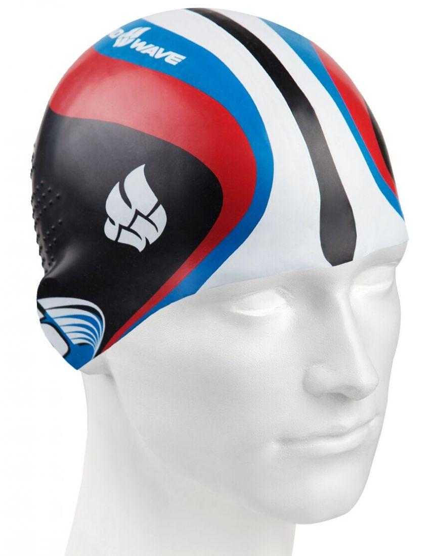 Шапочка для плавания силиконовая Mad Wave Racing Silicone