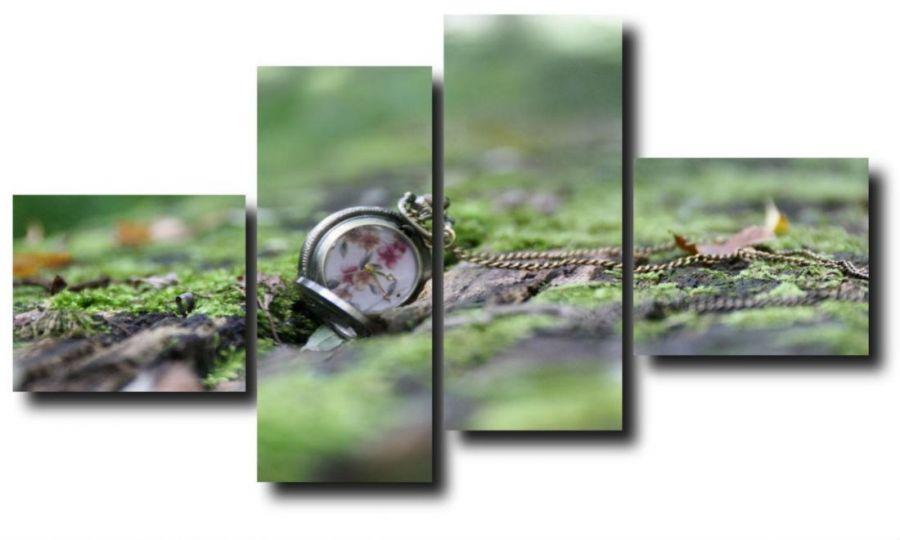 Модульная картина Утерянные часы