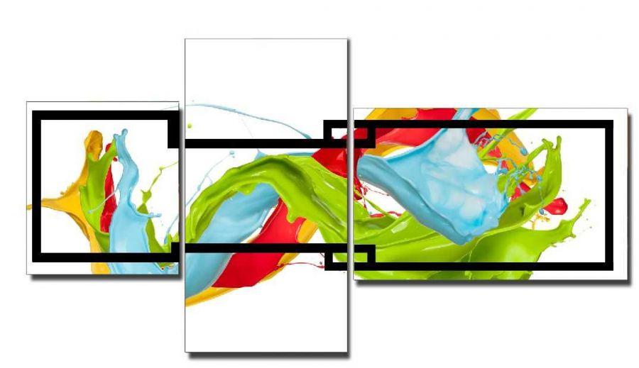 Модульная картина Краска