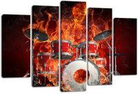 Модульная картина Призрачный барабанщик
