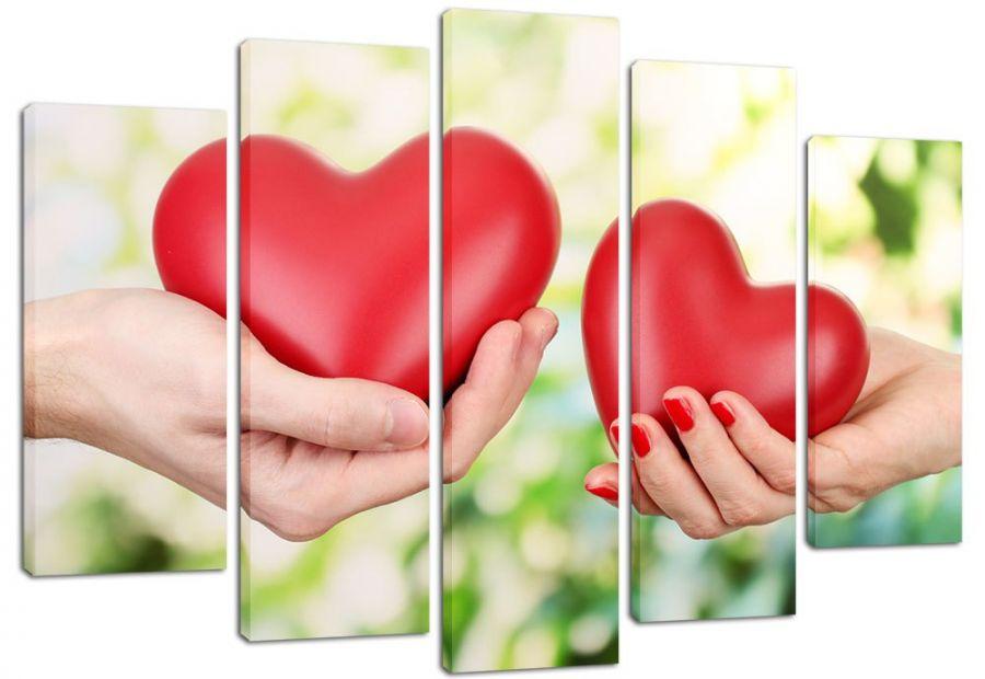 Модульная картина Взаимная любовь