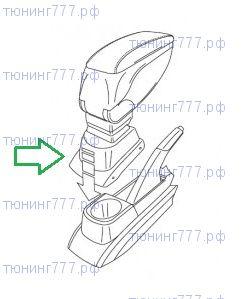 Адаптер VW Polo к подлокотнику Armster 1й серии