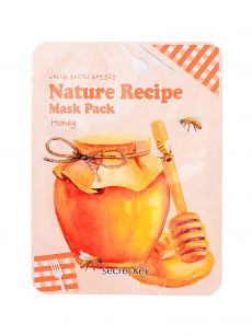 """SECRET KEY"" Nature Recipe Mask Pack_Honey Маска тканевая медовая  20гр"
