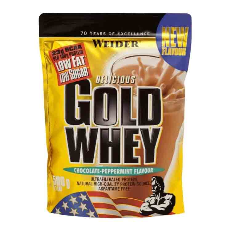 Gold Whey Protein от Weider 500 гр