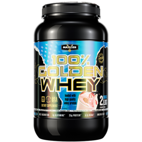 Golden Whey от Maxler 2 lb 908 гр