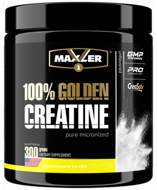 100% Golden Creatine от Maxler (300 g)