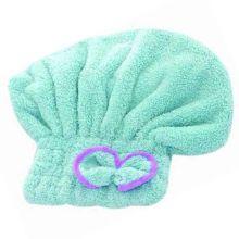 Мягкая махровая шапочка для быстрой сушки волос, Бирюзовый