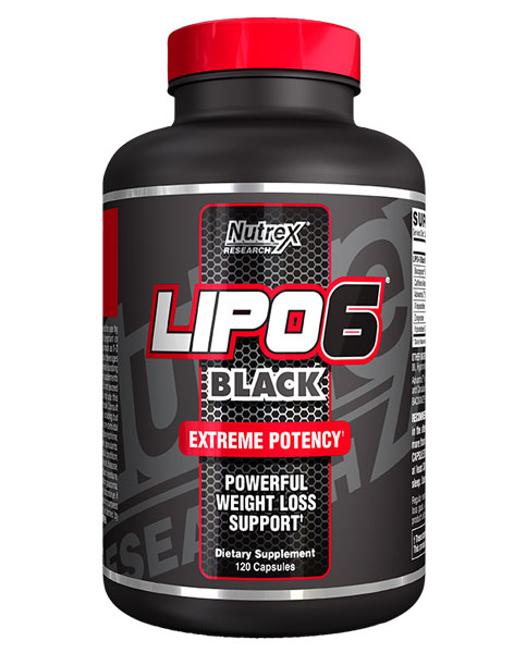 Lipo 6 Black от Nutrex 120 кап