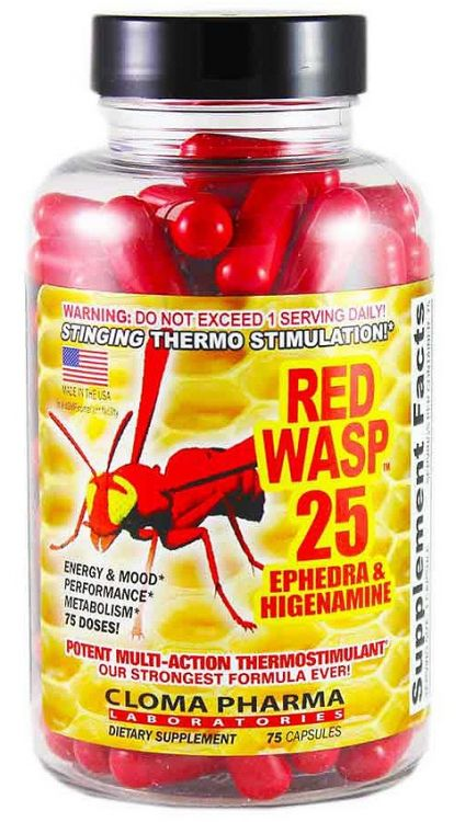 Red Wasp 25 от Cloma Pharma 75 кап