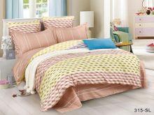 Комплект постельного белья Сатин SL 1.5 спальный Арт.15/315-SL