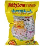 Ketty Love комкующийся наполнитель Лимон  10 л