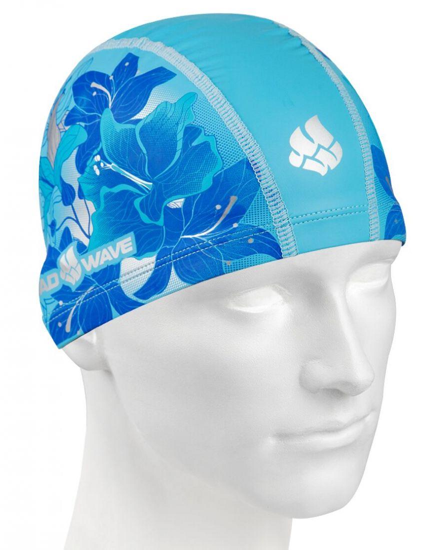 Шапочка для плавания комбинированная Mad Wave FLORA