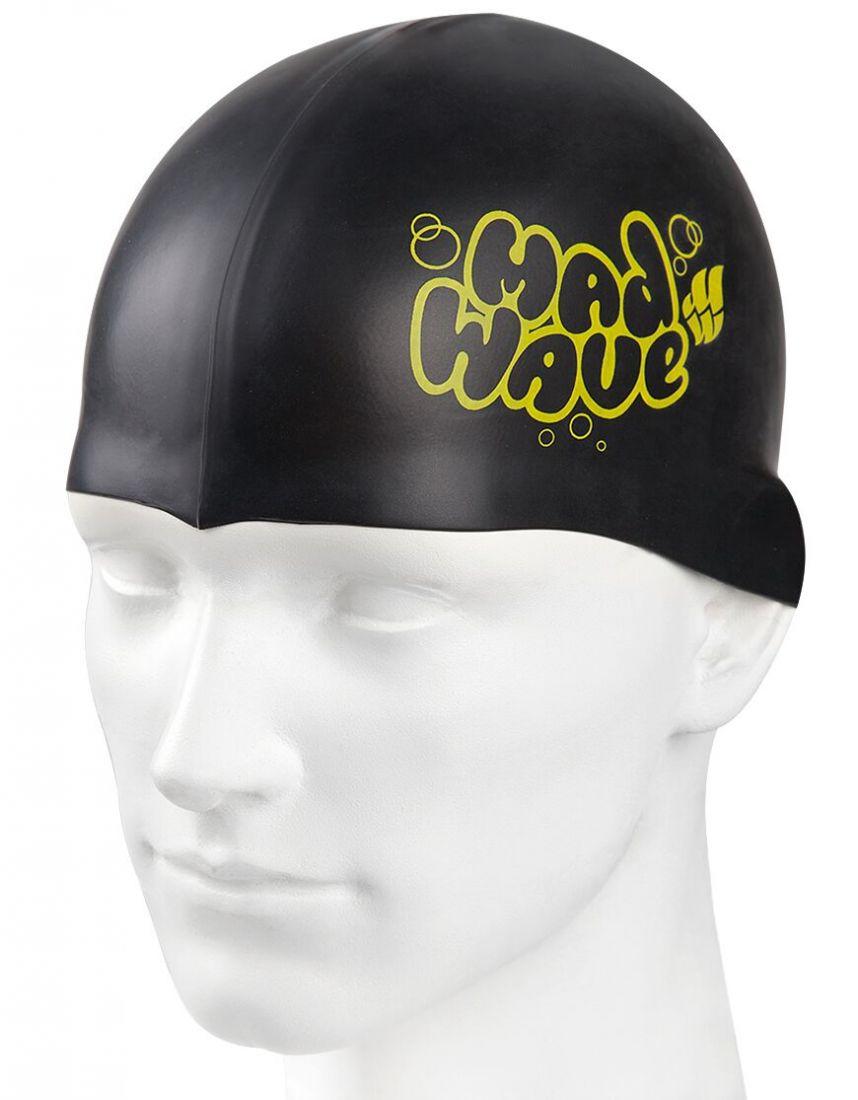 Шапочка для плавания силиконовая Mad Wave Silicone Junior Solid
