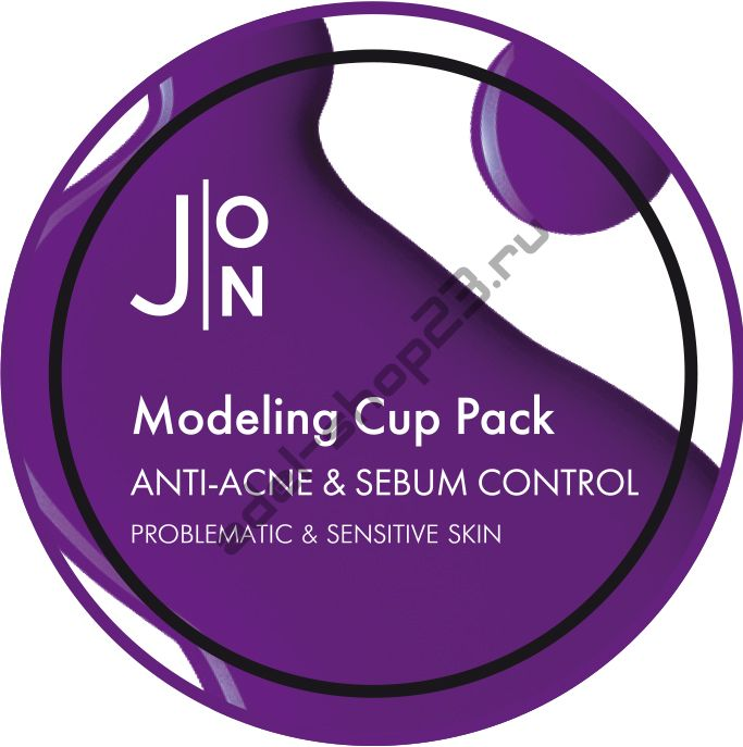 [J:ON] - Альгинатная маска АНТИ-АКНЕ И СЕБУМ КОНТРОЛЬ ANTI-ACNE & SEBUM CONTROL MODELING PACK