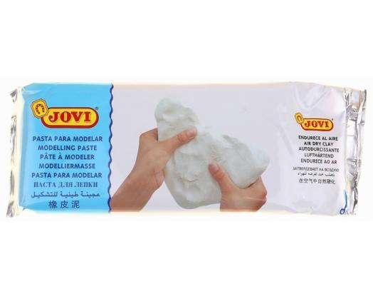 Масса для лепки самозаствающая JOVI, цвет Белый,  250 гр
