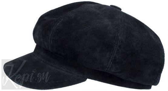 женская-кепка-хулиганка-замшевая