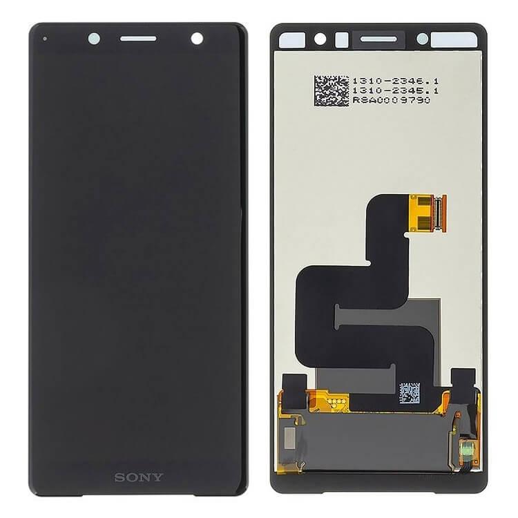 Дисплей в сборе с сенсорным стеклом для Sony Xperia XZ2 Compact