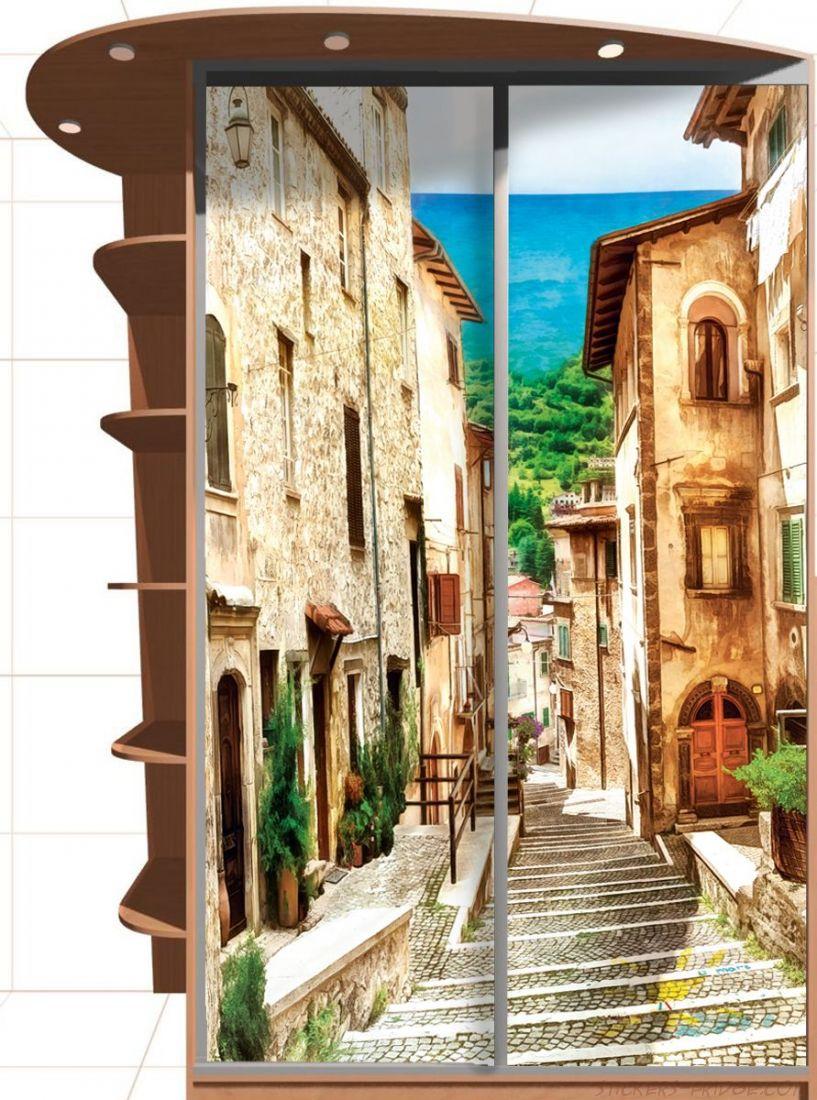 Наклейка на шкаф - Неаполитанская