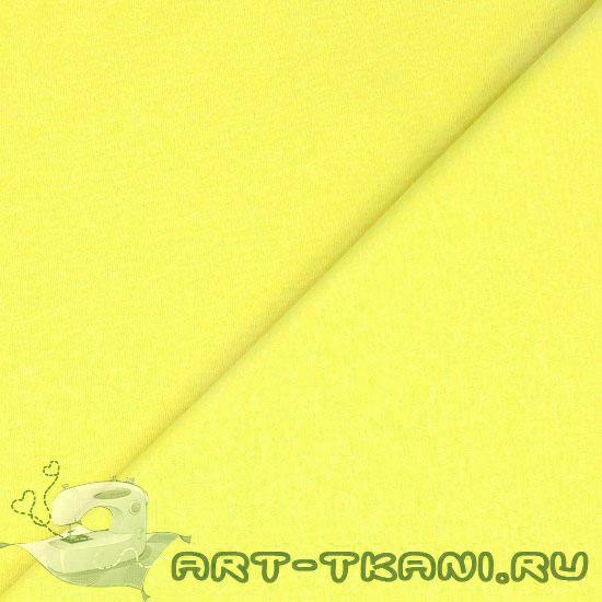 Лоскут трикотажной ткани Лимонный 50*30