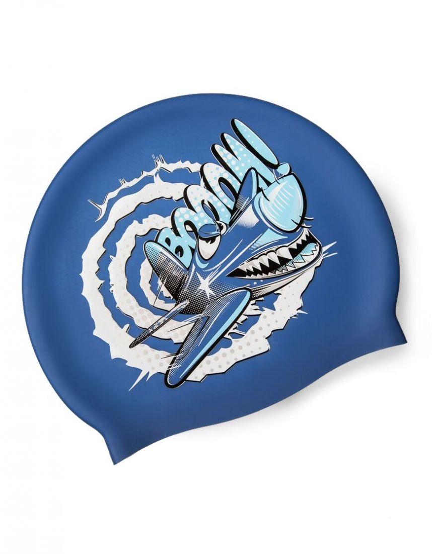 Шапочка для плавания силиконовая Mad Wave CRAZY FLY