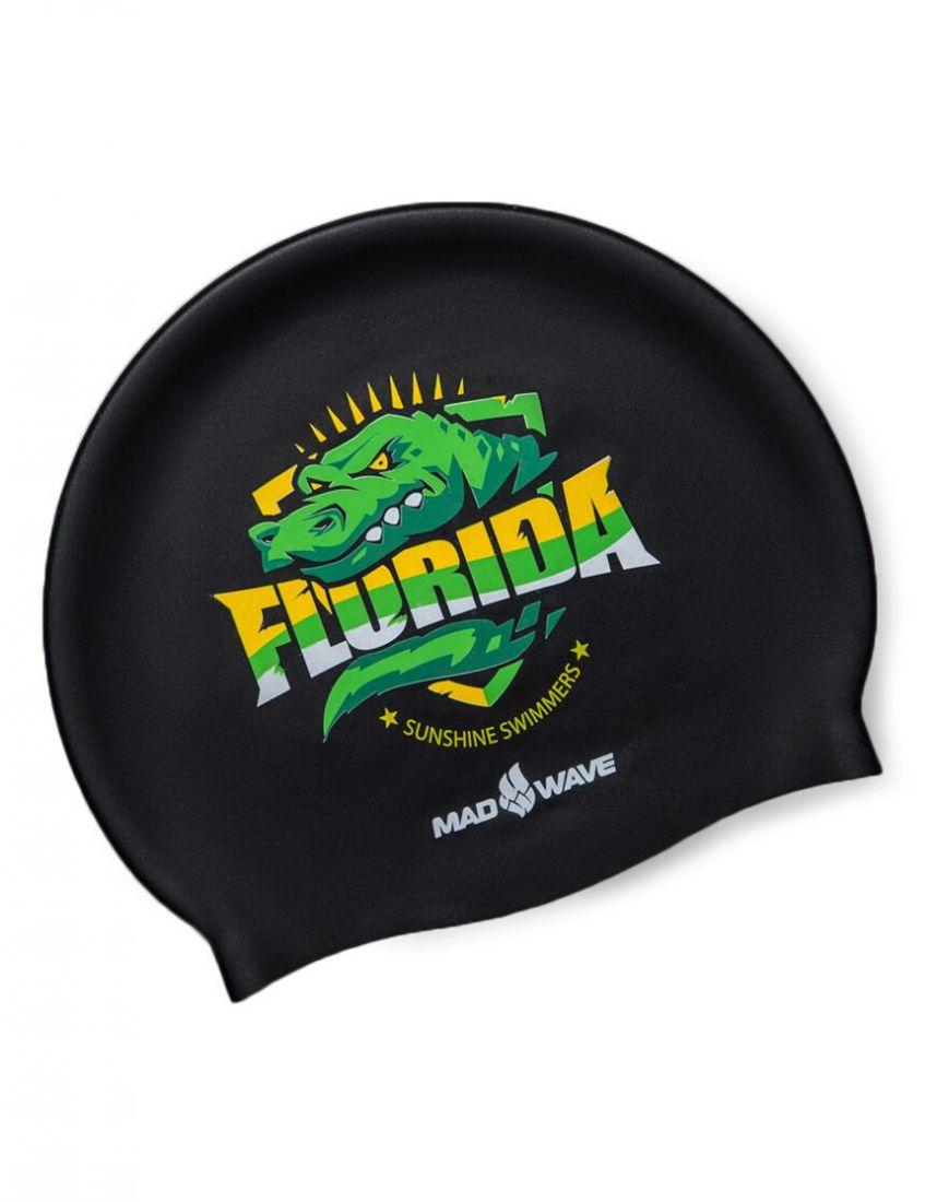 Шапочка для плавания силиконовая Mad Wave FLORIDA