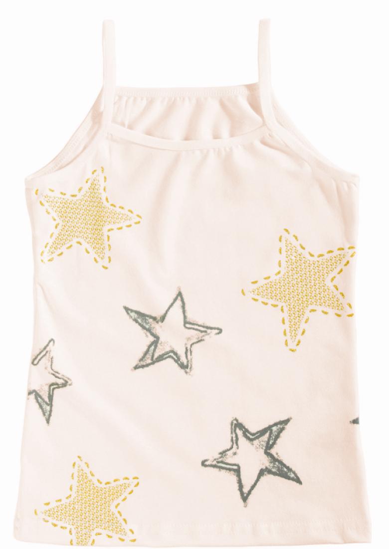 Майка Звезды для девочки на размер 146-152