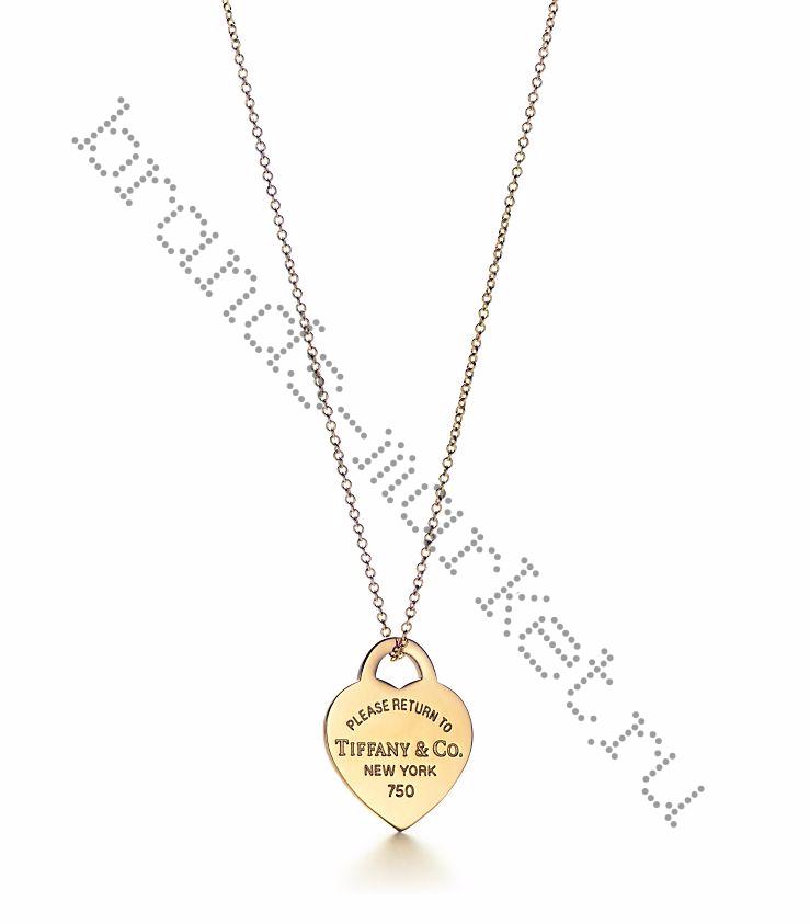 Подвеска в форме сердца Return to Tiffany®
